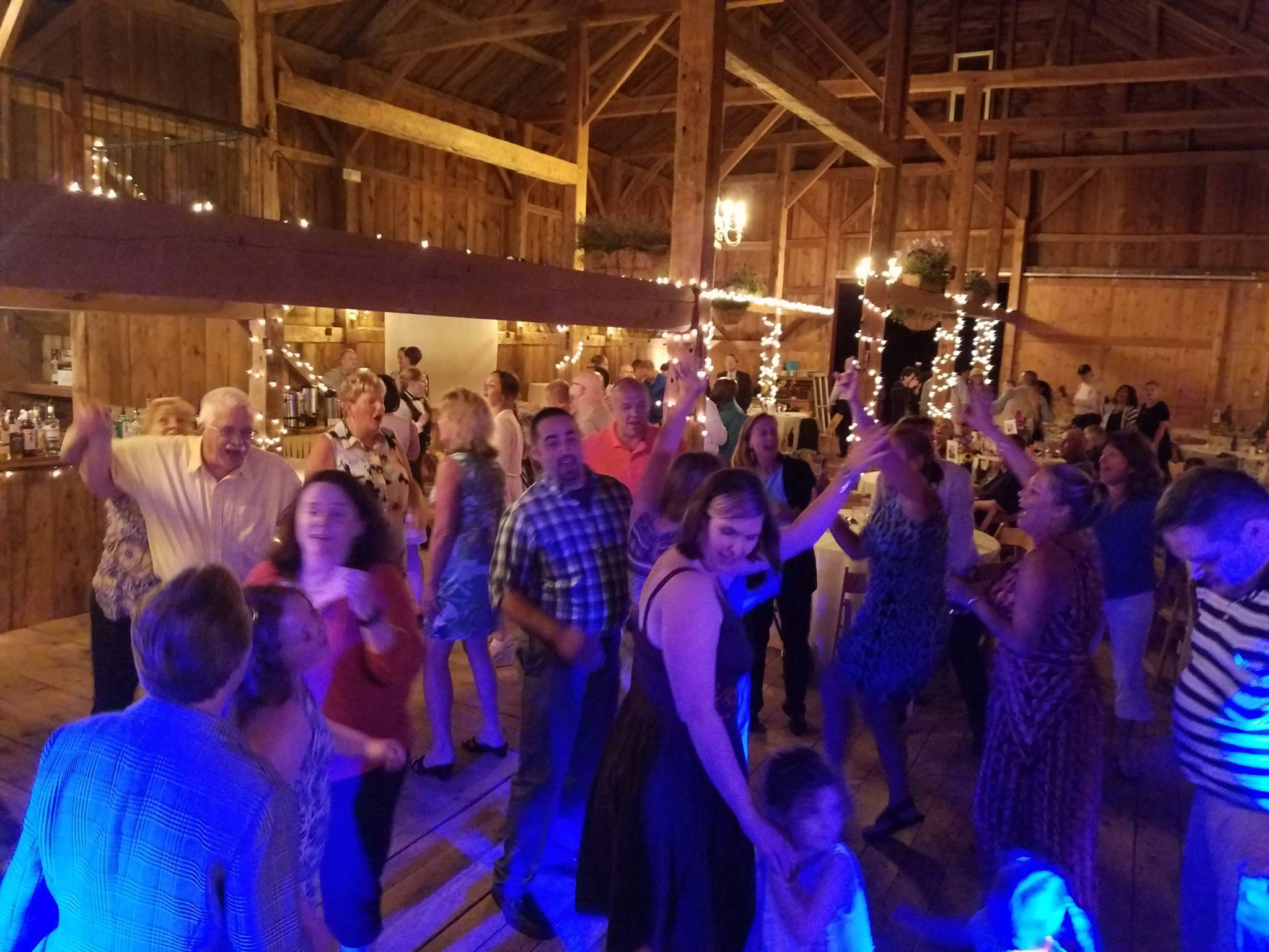 Matt And Lous Wedding Reception At William Allen Farm In Pownal Maine Band Every
